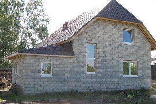 Строительство домов из шлакоблоков в Санкт-Петербурге под ключ