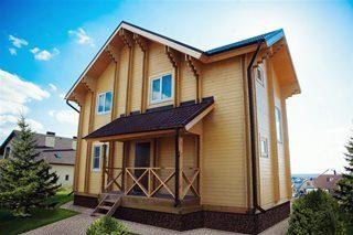 Строительство домов по технологии двойного бруса в Санкт-Петербурге под ключ
