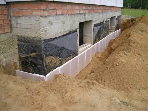 Строительство цокольного фундамент в Санкт-Петербурге