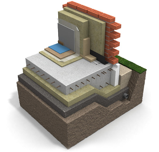 Проектирование плитных фундаментов