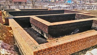 Фото процесса строительства Проектирование буронабивного фундамента
