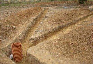 Дренаж участка с высоким уровнем грунтовых вод под ключ