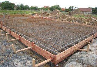 Строительство фундамента: плита перевернутая чаша под ключ