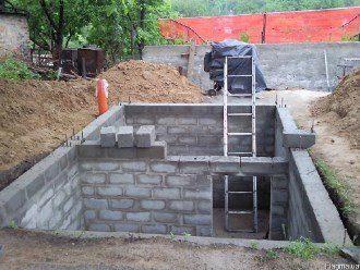 Строительство гаража с подвалом в Санкт-Петербурге