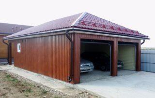 Вес металлического гаража как рассчитать