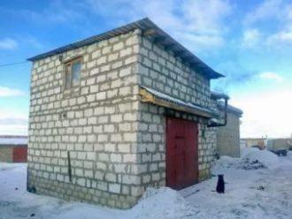 Строительство гаража из газобетона в Санкт-Петербурге