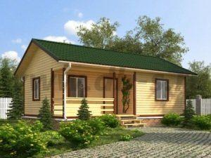 Щитовые дачные дома под ключ в Санкт-Петербурге