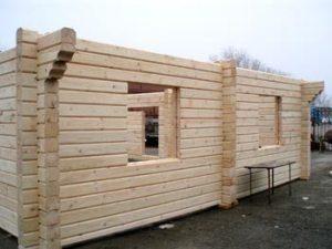 Строительство домов из бруса в Санкт-Петербурге
