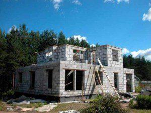 Строительство домов из газобетона в Санкт-Петербурге