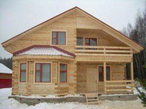 Строительство дома с мансардой в Санкт-Петербурге