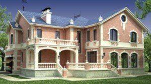 Строительство элитных загородных домов в Санкт-Петербурге