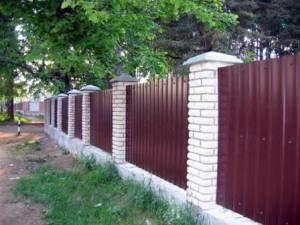 Строительство заборов в Санкт-Петербурге