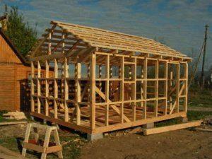 Строительство бани от фундамента до крыши в Санкт-Петербурге