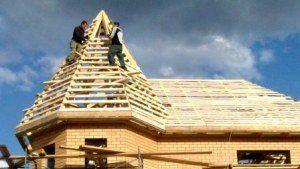 Строительство крыши дома в Санкт-Петербурге