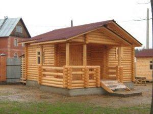 Строительство деревянных бань под ключ в Санкт-Петербурге