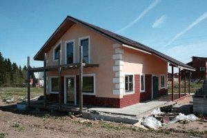 Строительство частного дома под ключ в Санкт-Петербурге
