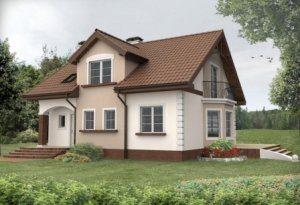 Каркасно-щитовой дом для постоянного проживания в СПб
