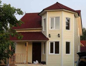 Каркасный зимний дом под ключ в Санкт-Петербурге