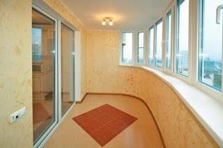 Ремонт балкона под ключ в Санкт-Петербурге