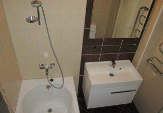 Ремонт ванной комнаты в домах 504 серии