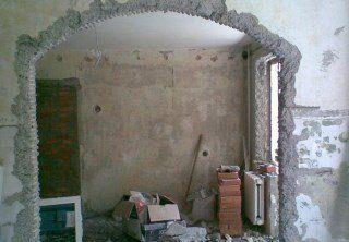 Фото процесса Перепланировка стен в Санкт-Петербурге