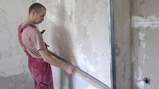Фото процесса Выравнивание стен в Санкт-Петербурге