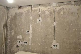 Штробление стен в Санкт-Петербурге