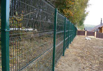 Забор из сетки гиттер (gitter) в Санкт-Петербурге