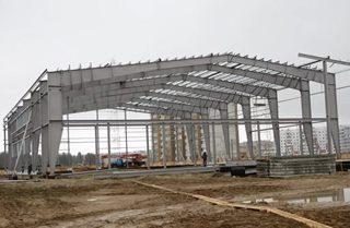 Фото Строительство спортзалов в Санкт-Петербурге