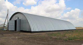 Строительство зернохранилища в Санкт-Петербурге