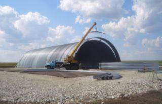 Фото Строительство зернохранилища в Санкт-Петербурге